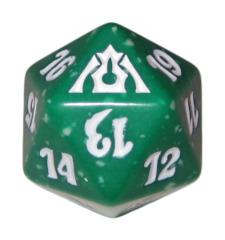 MTG Spindown 20 Life Counter - Dragon's Maze (Selesnya - Green/White)