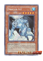 Dragon Ice - GLAS-EN084 - Secret Rare - Unlimited Edition