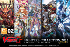 G-FC02 Fighters Collection 2015 Winter (English) Cardfight Vanguard Booster Box ** Pre-Order Ships January 8, 2016