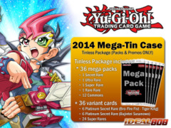 Yugioh 2014 Mega-Tin Case (Cards & Packs Only) - Get x36 Mega-Packs & x36 Promos from the Fire Fist & Bujin Tins on Ideal808