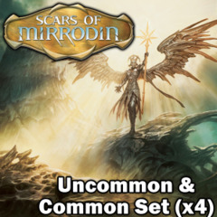Scars of Mirrodin (SOM) Complete Set of Commons/Uncommons x4