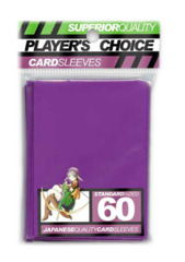 Player's Choice Standard Card Sleeves - Purple