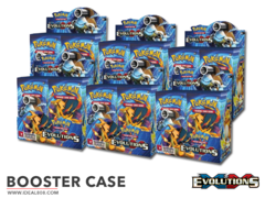 XY Evolutions (XY12) Pokemon Booster  Case (6 Boxes) * PRE-ORDER Ships Nov.2, 2016