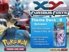 Pokemon XY Furious Fists Theme Deck - B (Sylveon) ** Pre-Order Ships August 13, 2014 on Ideal808