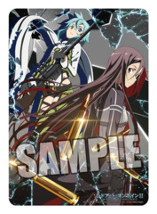 Sword Art Online II [Sinon & Kirito] Broccoli Vertical Playmat