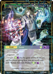 The Nine-Tailed Fox // Lilias Petal, Agent of Salvation [LEL-069 R (Textured Foil Ruler)] English