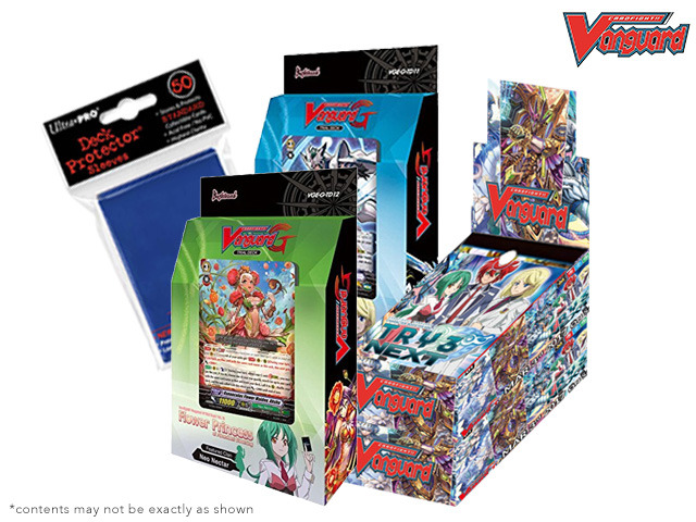 Cardfight Vanguard G-CHB01 G-TD11 G-TD12 Variety Pack - Get x2 TRY3 NEXT Box; x1 Divine Knight; x1 Flower Princess Decks *Mar.3