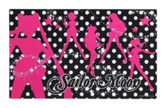 Sailor Moon [Character Cast in Pink Silhouette] Bandai Playmat