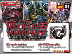Cardfight Vanguard G-TCB01 Bundle (C) - Get x8 The RECKLESS RAMPAGE Booster Box + FREE Bonus Item ** Pre-Order Ships 02/19