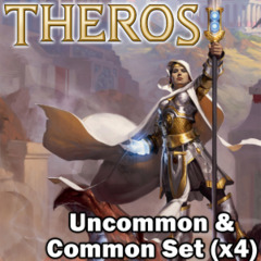 Theros (THS) Complete Set Commons/Uncommons x4