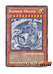 Rainbow Dragon - TAEV-EN006 - Ghost Rare - 1st Edition