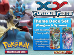 Pokemon XY Furious Fists Theme Deck Set (Pangoro & Sylveon) ** Pre-Order Ships August 13, 2014 on Ideal808