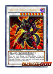 Hot Red Dragon Archfiend - YF06-EN001 - Ultra Rare - Promo Edition on Ideal808