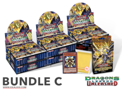 Yugioh Dragons of Legend: Unleashed Bundle (C) - Get x6 Booster Boxes + Bonus Items (See Description)