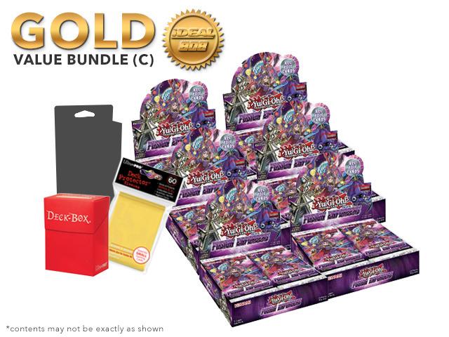 Yugioh Fusion Enforcers Bundle (C) Gold - Get x6 Booster Boxes + Bonus Items (See Description)