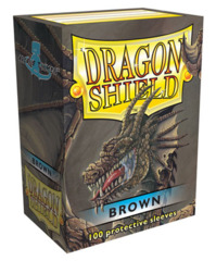 Dragon Shield Standard-size (100ct) Sleeves - Brown