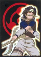 Naruto CCG US Exclusive Bandai Official Limited Edition Card Sleeves - Sasuke Uchiha Sharingan Eye (Red/Black)