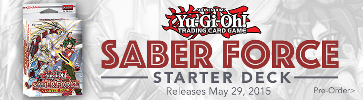 Yu-Gi-Oh! Saber Force Structure Deck