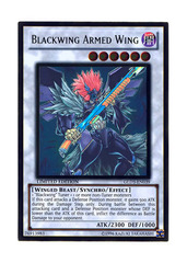 Blackwing Armed Wing - GLD3-EN039 on Ideal808