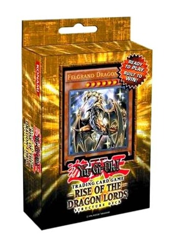 Rise of the Dragon Lords Structure Deck (1st Edition)
