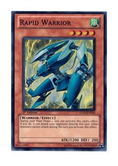 Rapid Warrior - 5DS3-EN004 - Super Rare - 1st Edition