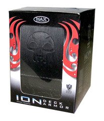 MAX Exclusive ION Deck Box - Mana Symbol - Black on Ideal808