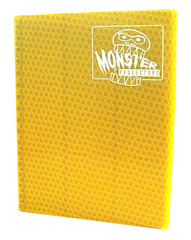 Monster Protectors 9 Pocket Binder - Gold on Ideal808