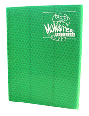 Monster Protectors 9 Pocket Binder - Green on Ideal808