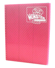 Monster Protectors 9 Pocket Binder - Pink on Ideal808
