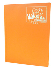 Monster Protectors 9 Pocket Binder - Matte - Orange on Ideal808
