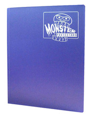 Monster Protectors 9 Pocket Binder - Matte - Purple on Ideal808
