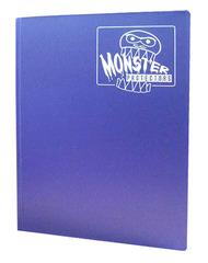 Monster Protectors 9 Pocket Binder - Matte - Purple