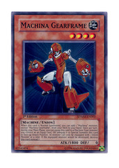 Machina Gearframe -  SDMM-EN002  - Super Rare - 1st Edition