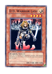 D.D. Warrior Lady - SDWS-EN009 - Common - 1st Edition