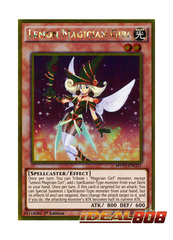 Lemon Magician Girl - MVP1-ENG51 - Gold Rare - 1st Edition