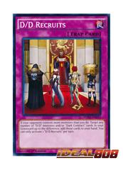 D/D Recruits - SDPD-EN033 - Common - 1st Edition
