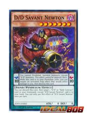 D/D Savant Newton - SDPD-EN002 - Common - 1st Edition