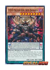 D/D/D Oblivion King Abyss Ragnarok - SDPD-EN012 - Common - 1st Edition