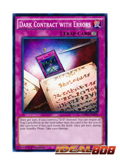 Dark Contract with Errors - SDPD-EN036 - Common - 1st Edition