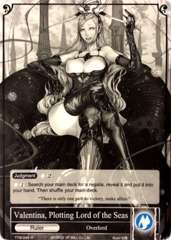 Valentina, Plotting Lord of the Seas // Overlord of the Seven Lands, Valentina [TTW-045 UR (Uber Rare Foil Ruler)] English