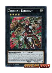 Zoodiac Drident - RATE-EN053 - Secret Rare - 1st Edition