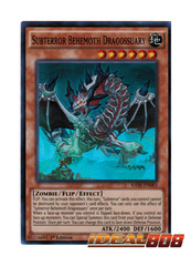 Subterror Behemoth Dragossuary - RATE-EN083 - Super Rare - 1st Edition
