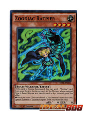 Zoodiac Ratpier - RATE-EN014 - Super Rare - 1st Edition