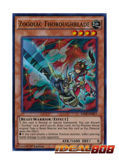 Zoodiac Thoroughblade - RATE-EN017 - Ultra Rare - 1st Edition