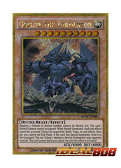 Obelisk The Tormentor - MVPC-EN001 - Gold Secret Rare - Dark Side Of Dimensions Movie Promo