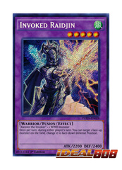 Invoked Raidjin - FUEN-EN028 - Secret Rare - 1st Edition