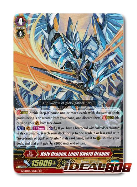 Holy Dragon, Legit Sword Dragon - G-CHB01/010EN - RR