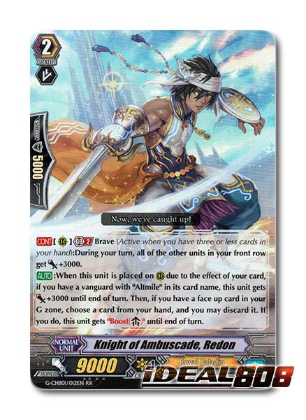 Knight of Ambuscade, Redon - G-CHB01/012EN - RR