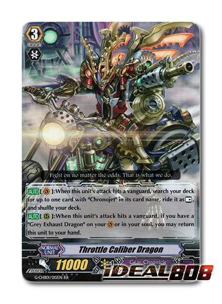 Throttle Caliber Dragon - G-CHB01/015EN - RR