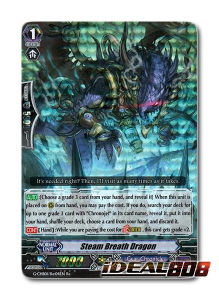 Steam Breath Dragon - G-CHB01/Re:04EN - Re